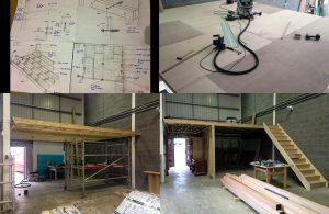Mezzanine Level Installation