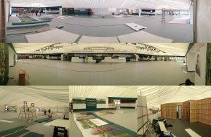 Tradeshow Floor Setup